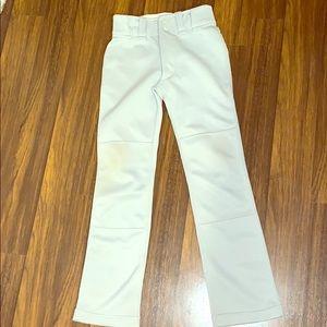 Gray baseball pants